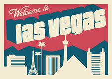 Horizon de Las Vegas illustration libre de droits