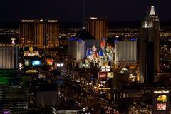 Horizon de Las Vegas, Etats-Unis Images libres de droits