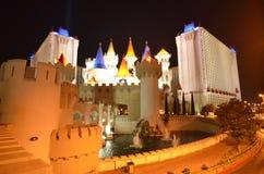 Horizon de Las Vegas par nuit Photo libre de droits