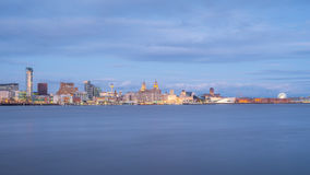 Horizon de Liverpool Image stock