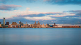 Horizon de Liverpool Photo stock