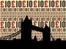 Horizon de Londres Images libres de droits