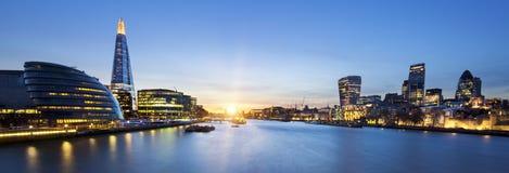 Horizon de Londres photographie stock libre de droits