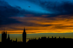 Horizon de Londres Photographie stock