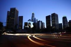 Horizon de Los Angeles Photo libre de droits