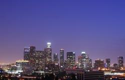 Horizon de Los Angeles Images libres de droits