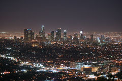 Horizon de Los Angeles image libre de droits