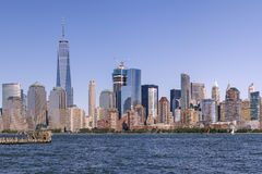 Horizon de Lower Manhattan Image stock