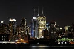 Horizon de Manhattan Photos libres de droits