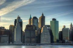 Horizon de Manhattan images stock