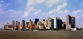Horizon de Manhattan photo libre de droits
