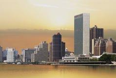 Horizon de Manhattan Photo stock