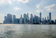 Horizon de Manhattan Images stock