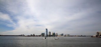 Horizon de Manhattan Images libres de droits