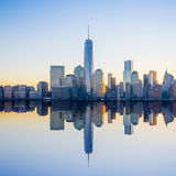 Horizon de Manhattan Image stock