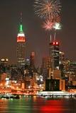 Horizon de Manhattan de Midtown images stock