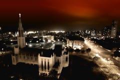 Horizon de Maputo Photographie stock