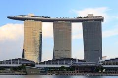 Horizon de Marina Bay, Singapour Photographie stock