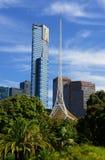 Horizon de Melbourne CBD Photo libre de droits