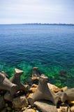 Horizon de mer Photos libres de droits