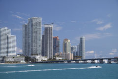 Horizon de Miami Images stock