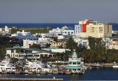 Horizon de Miami Photos libres de droits