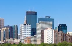 Horizon de Minneapolis de Walker Art Center images libres de droits