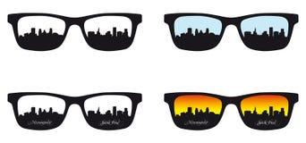 Horizon de Minneapolis, St Paul illustration de vecteur