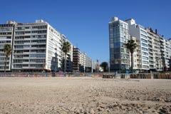 Horizon de Montevideo Photographie stock