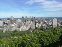 Horizon de Montréal Image stock