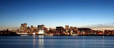 Horizon de Montréal Photographie stock
