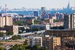 Horizon de Moscou Photos stock