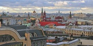 Horizon de Moscou images stock