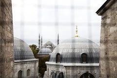 Horizon de mosquée (vue d'hublot)
