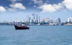 Horizon de Mumbai Photographie stock libre de droits