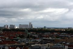 Horizon de Munich photos libres de droits