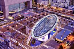 Horizon de Nagoya Japon photo stock