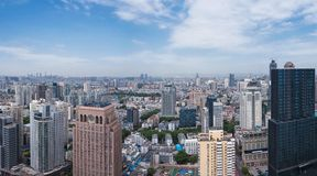 Horizon de Nanjing City Image libre de droits