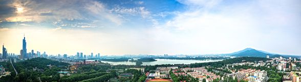 Horizon de Nanjing City Images stock