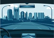 Horizon de Nashville Tennessee illustration libre de droits