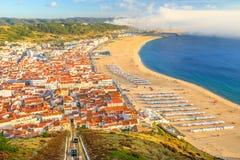 Horizon de Nazare Portugal image libre de droits