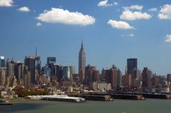 Horizon de New York Photos stock