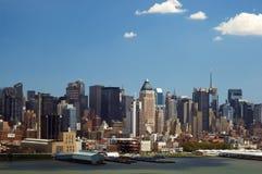 Horizon de New York Photo libre de droits