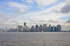 Horizon de New York Photographie stock