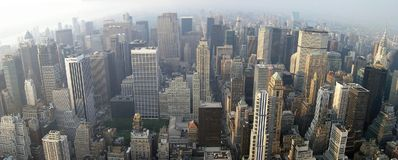 Horizon de New York photographie stock libre de droits