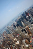 Horizon de New York Images libres de droits