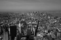 Horizon de New York Photos libres de droits