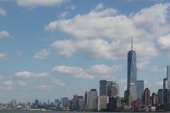 Horizon de New York Image libre de droits