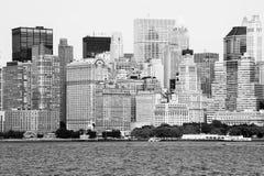 Horizon de New York Image stock