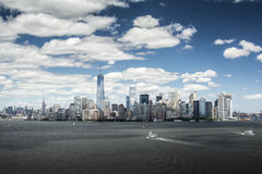 Horizon 2014 de New York Images stock